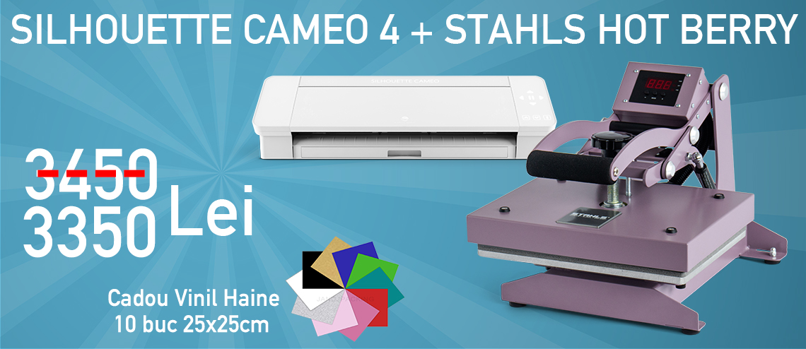 STAHLS Hot Berry + Silhouette Cameo 4