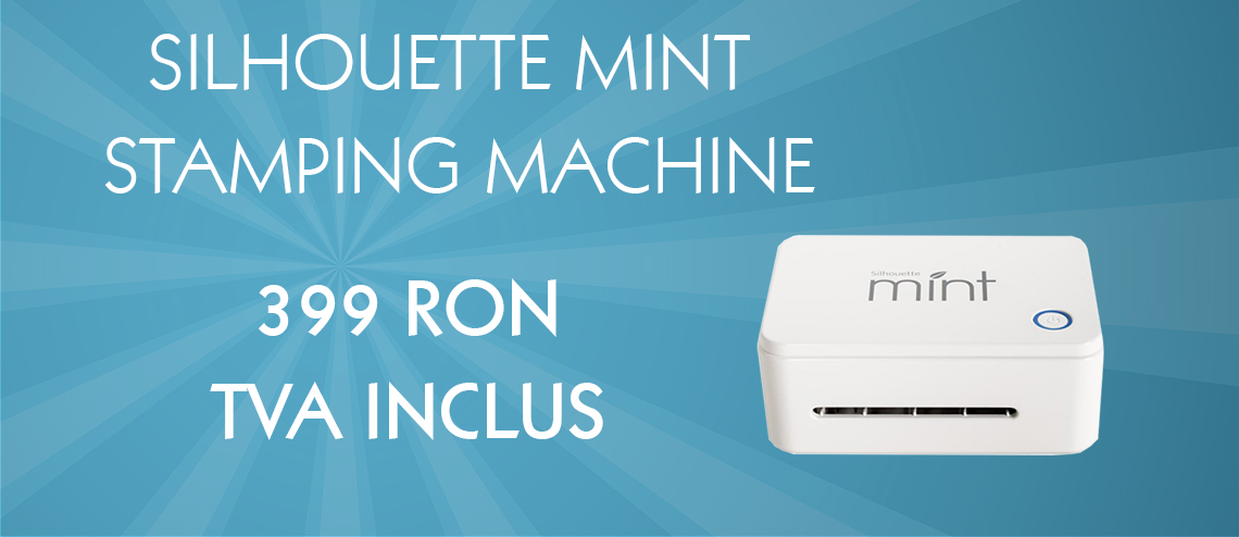 SILHOUETTE MINT STAMPING MACHINE
